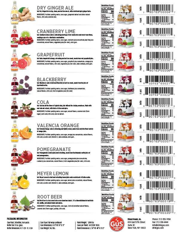 Craft Soda Flavors