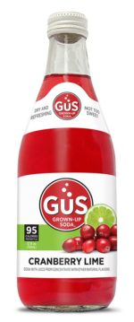 GuS Cranberry Lime Soda