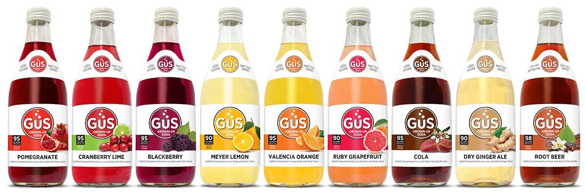 GuS Soda All Flavors