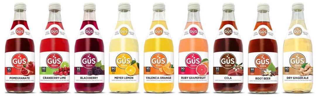 GuS Soda Flavors