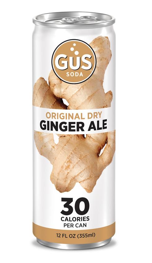 GuS Original Dry Ginger Ale