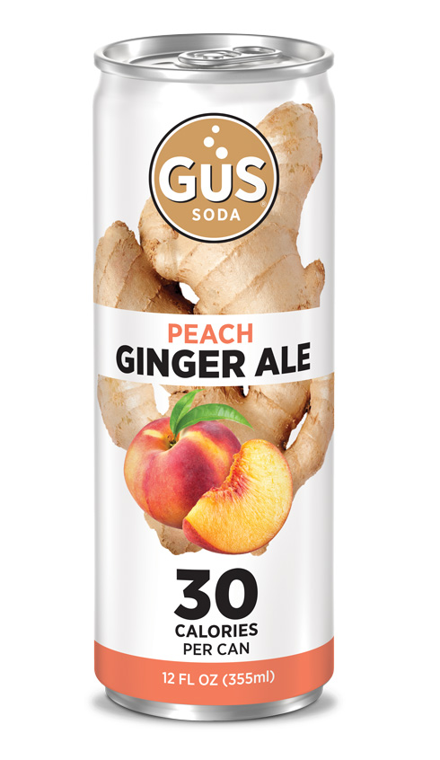 GuS Peach Ginger Ale