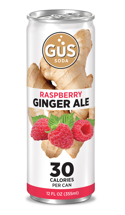 GuS Raspberry Ginger Ale