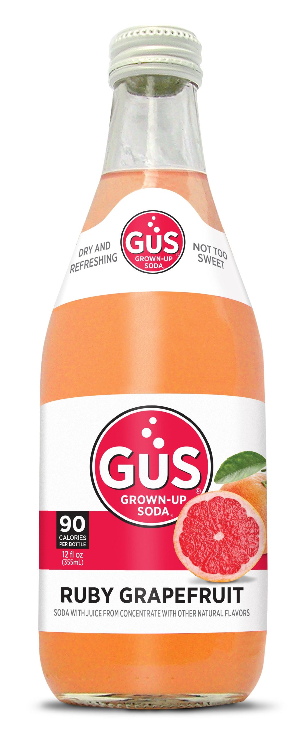 GuS Grapefruit Soda