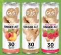 GuS Ginger Ales