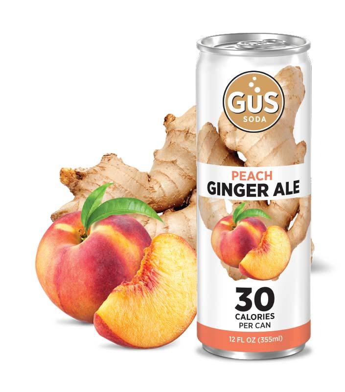 GuS Ginger Ale Peach