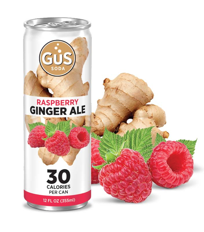 GuS Ginger Ale Raspberry