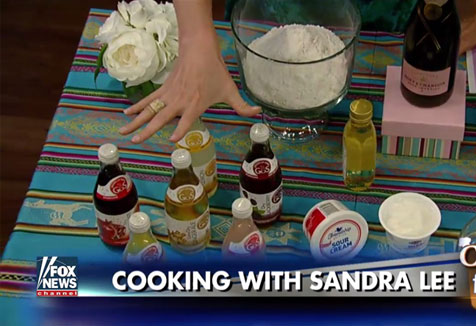 GuS Soda appears on Fox and Friends with big fan Sandra Lee