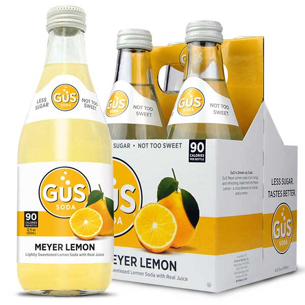 Meyer Lemon GuS Soda