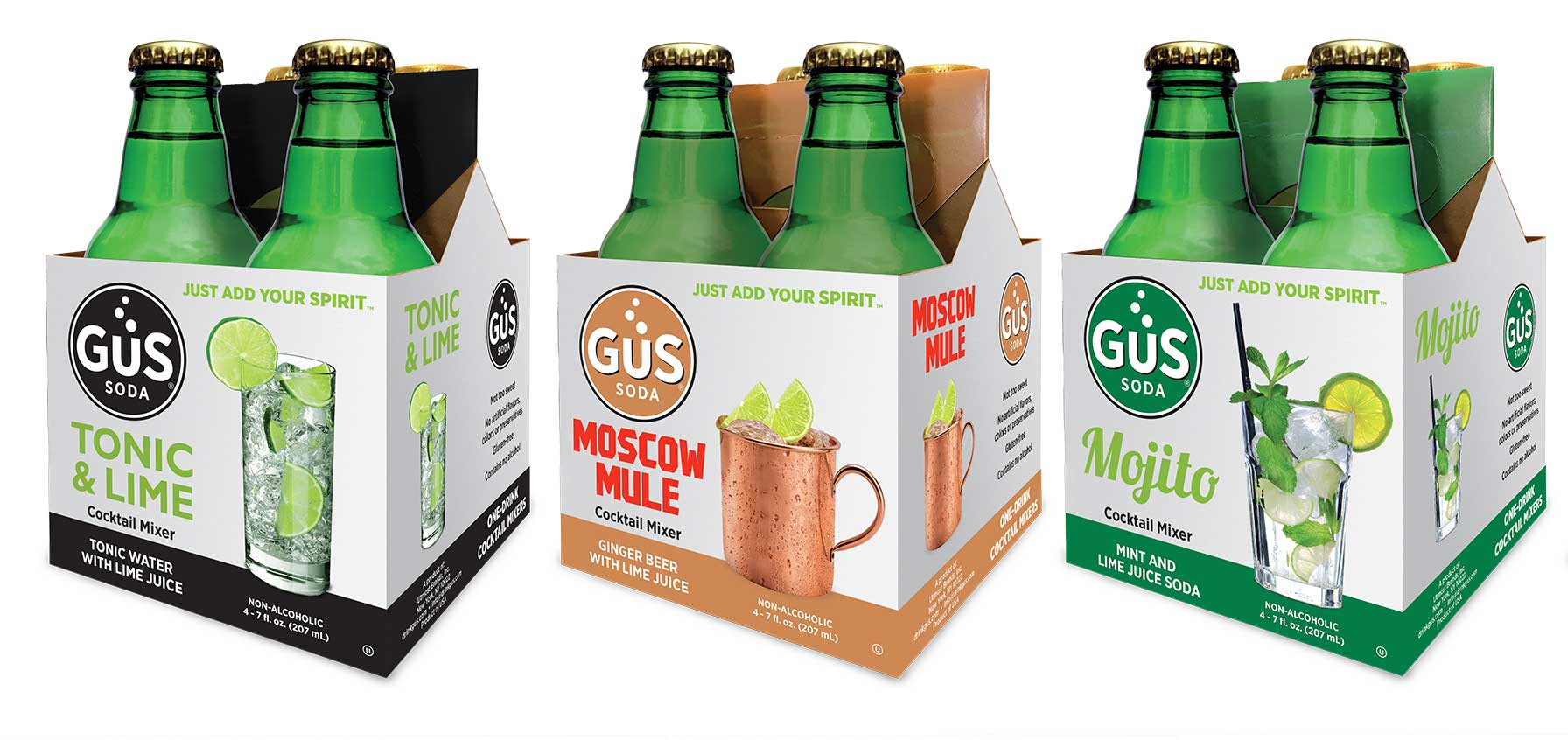 GuS Alcohol Cocktails Mixers
