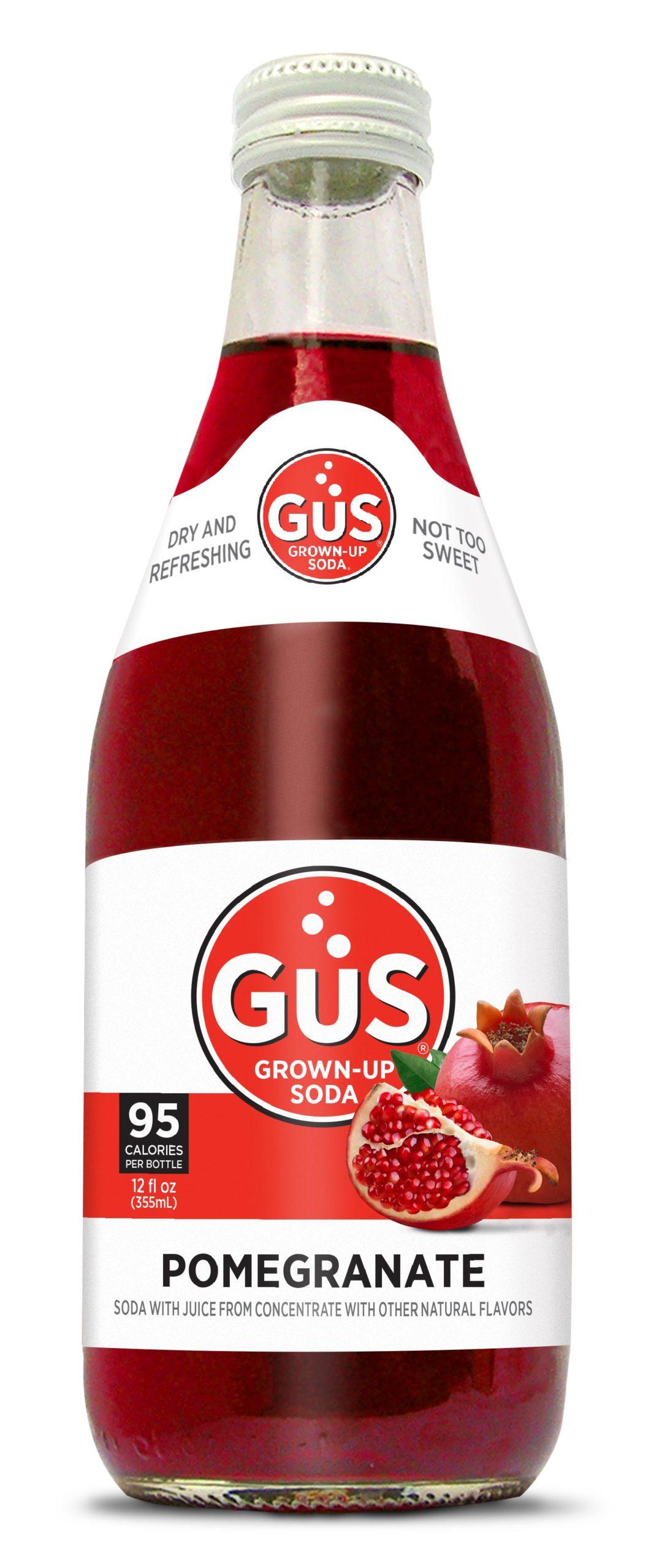 GuS Pomegranate Soda