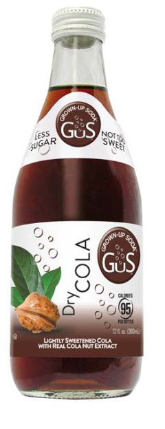 GuS Dry Craft Cola Soda