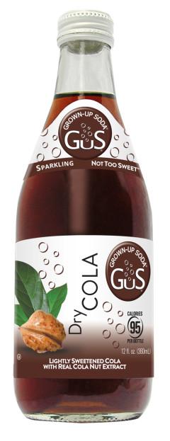 GuS Dry Craft Cola Soda