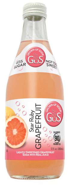 GuS Grapefruit Craft Soda