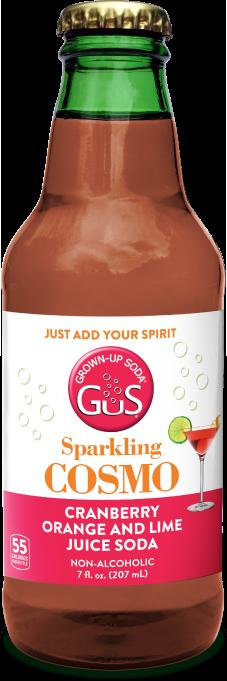 GuS Sparkling Cosmo Cocktail Mixer