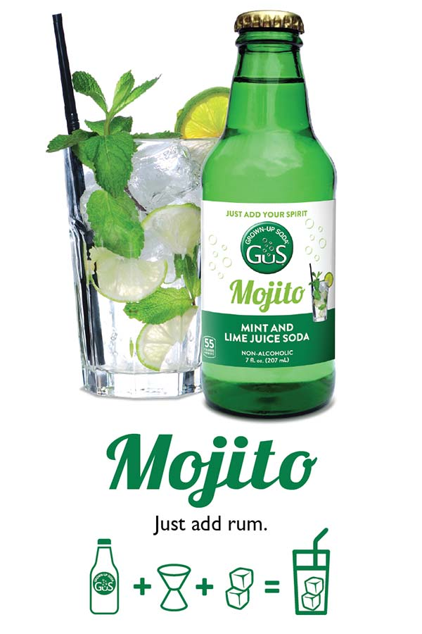 GuS Mojito Cocktail Mixer
